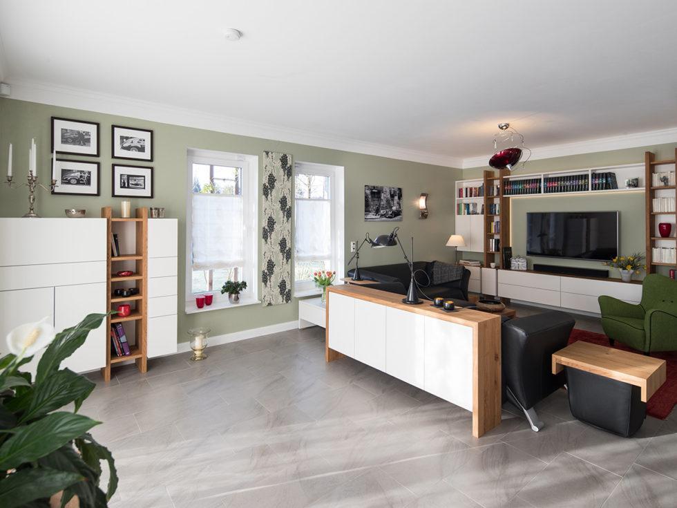 Moderne Wohnzimmergestaltung | Holzmanufaktur