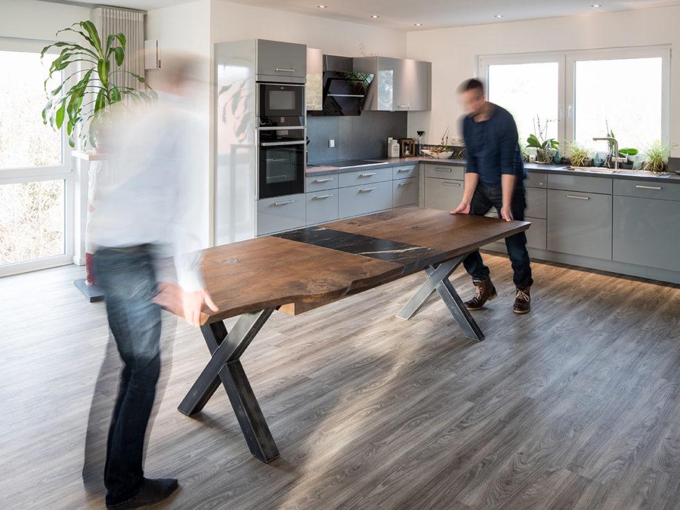 Möbelbau Esszimmertisch